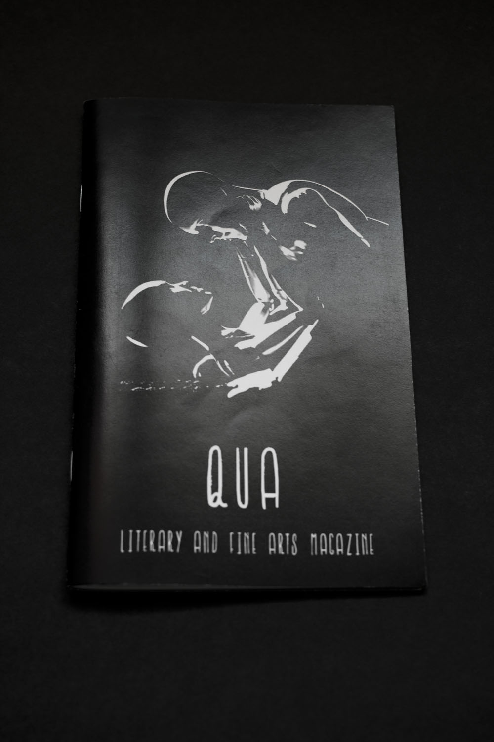 Qua Literary Fine Art Magazine Editorial Zine